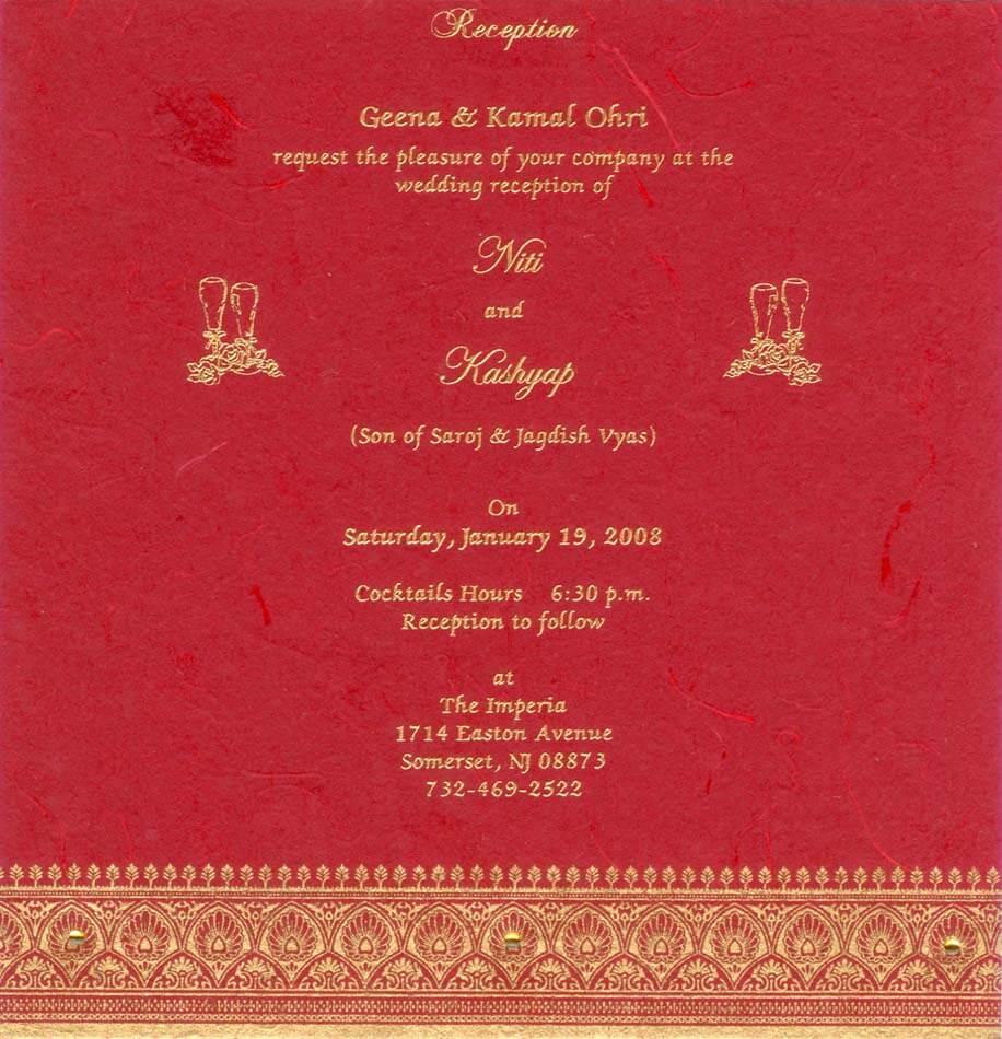 Hindu Marriage Invitation Wordings is luxury invitation layout