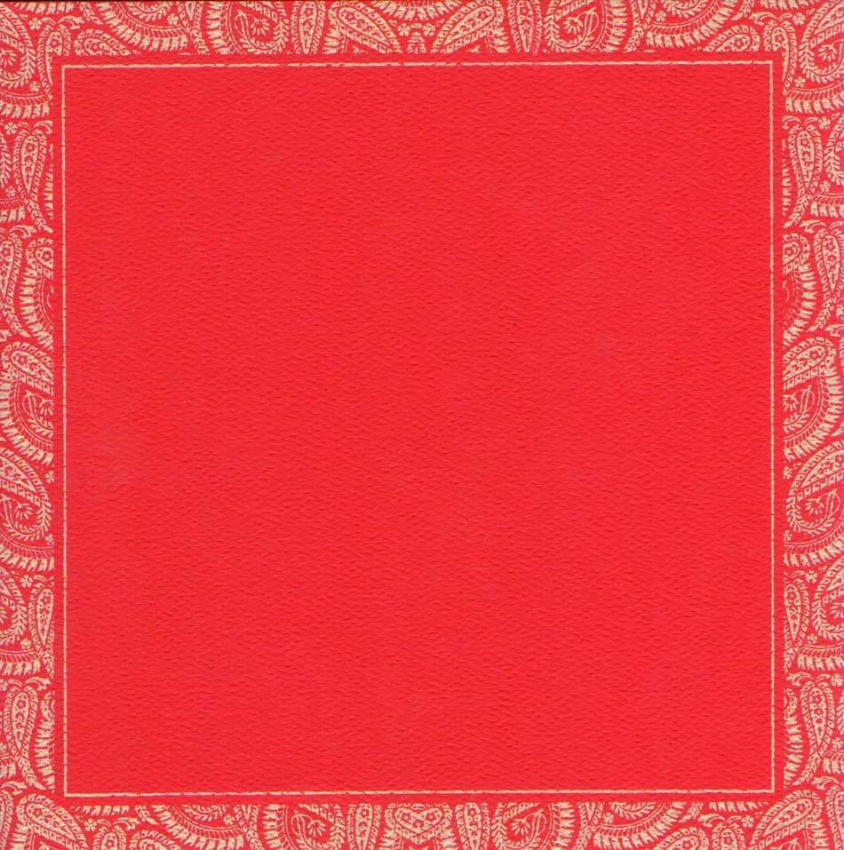 Wedding Invitation Card Red Background Design ~ Matik for