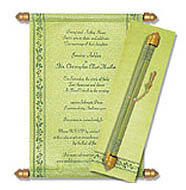 Scroll Wedding Invitations, How To Make Scroll Baby Shower Invitations, Scroll Invitations Northamptonshire, Scroll Wedding Invitations Baltimore