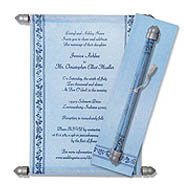 Blue Scrolls, Scroll Ends For Invitations, Scroll Wedding Invitations Kent, Buy Scroll Invitations Detroit