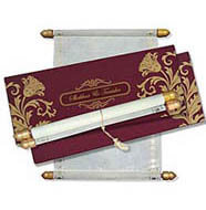 Scroll Box Cards, Order Scroll Invitations, Buy Scroll Wedding Invitations Orkney, Scroll Invitations Stockton