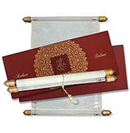 Stylish Scroll Invitations, Scroll Wedding Cards Price, Buy Scroll Invitations Truro, Buy Scroll Invitations USA
