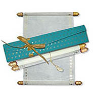 Scroll Invitations with ribbon, Turquoise blue scroll invitations, Scroll Invitations New York, Wedding Invitation Scroll Boxes, Buy Scroll Wedding Invitations Wakefield, Buy Scroll Wedding Invitations USA