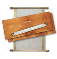 Supreme scroll Invitations