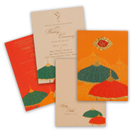 Umbrella Theme Invitations, muslim wedding cards in mumbai, Indian wedding cards San Diego, Muslim Wedding Cards Renfrewshire