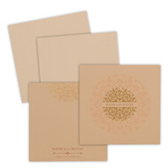Light Brown Invitations, muslim wedding cards design samples, Muslim Wedding Cards San Antonio, Hindu Wedding Cards Perthshire