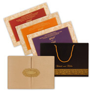 Wedding Cards with box set