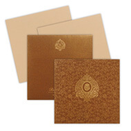 Brown Wedding Invitations, islamic wedding invitation cards online, Indian Wedding Invitations New York, Indian wedding cards Lanarkshire