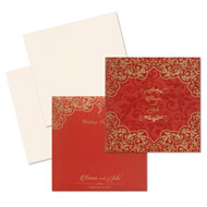 Bright red Indian wedding cards, indian wedding card price, Indian wedding cards Portland, Muslim Wedding Cards East Lothian