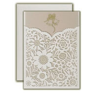 Buy Sweet 16 Invitations online, Budget Christian Wedding Invitations, Printed Laser cut Invitations