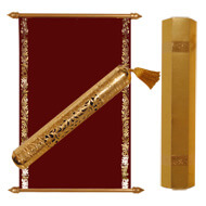 Royal Boxed Scrolls, Scroll Invitation Cards, Buy Scroll Wedding Invitations Plymouth, Buy Scroll Wedding Invitations Canada
