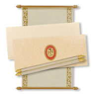 Scroll Wedding Invitation Boxes, Scroll Wedding Invitations With Rsvp Cards, Scroll Invitations India, Buy Scroll Invitations Auckland