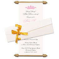 Baby Shower Scroll Invitations, Scroll Invitations with box, Scroll Invitations, Scroll Invitations USA
