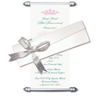 Baby Shower Scrolls, Scroll Invitations with box, Scroll Invitations, Scroll Invitations USA