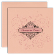 Peach wedding invitations, indian style invitation cards, Indian Wedding Invitations Tampa, Indian wedding cards Liverpool