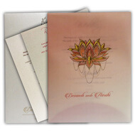 Buy Indian wedding cards, Printed digitally on tracing, Indian Wedding Invitations London