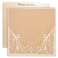 Shop engraved wedding cards, Indian wedding invitations california