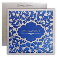 Exclusive Lasercut wedding invitations, Buy Indian wedding invitations online