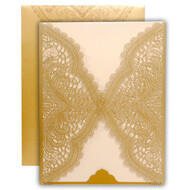 Classic lasercut wedding cards, Exclusive Indian wedding invitations