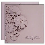 Interfaith wedding cards, Laser cut wedding Invitations, Order Invitations from India