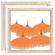 Umbrella theme Hindu wedding invitations, online kankotris, Kankotris United States, Best Wedding Cards Mumbai