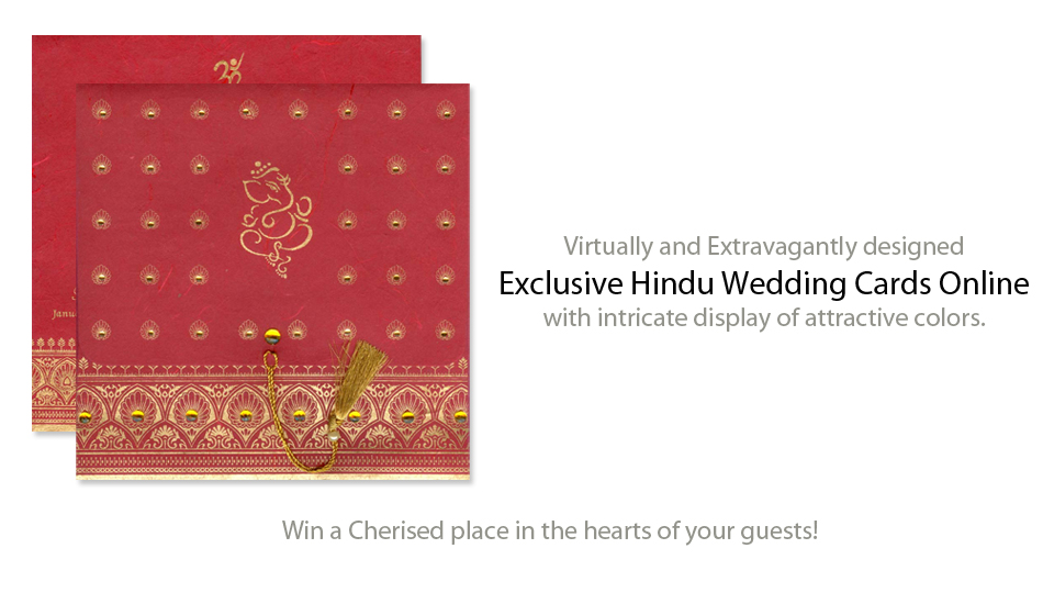 Hindu Wedding Cards Marriage Invitations And Designer Hindu Wedding Invitation Samples